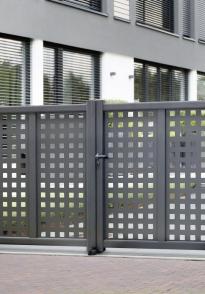 Portails et portes résidentiels en aluminium