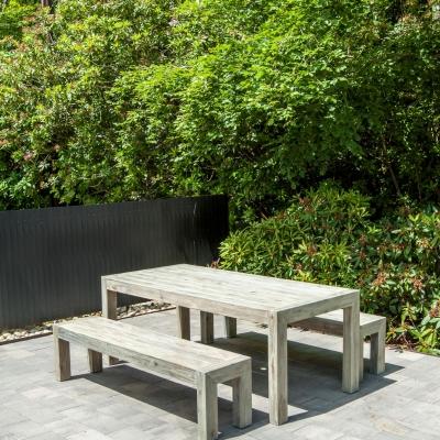 Meubles de jardin en Robinier FSC - Grey finish