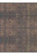 Premo rabatscherm in HPL 180 x 180 cm - Roestkleur