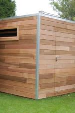 Cube Line stukwerk 300 x 450 cm - Western Red Cedar