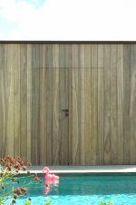 Robuust scherm in geïmpregneerd hout 180 x 180 cm