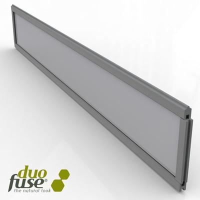 Kit deco PMMA melkglas - Stone grey