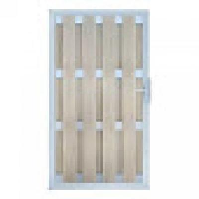 Panama rechtse deur in houtcomposiet 180 x 100 cm - Bi-color wit