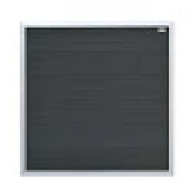 Forte scherm in houtcomposiet 180 x 180 cm