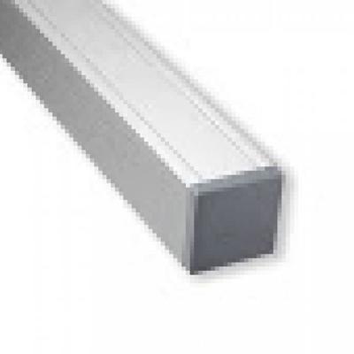 Aluminium paal 90 x 90 x 2720 mm - Zilvergrijs