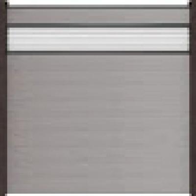 Solid scherm 2 - 180 x 180 cm - Steengrijs