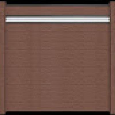Solid scherm 3 - 180 x 180 cm - Terra