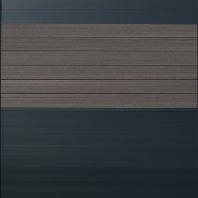 Combischerm 1 - 180 x 180 cm - Fiberon graphit + antraciet