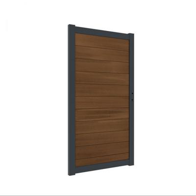 Washington deur inclusief hang- en sluitwerk 180 x 98 cm - Teak