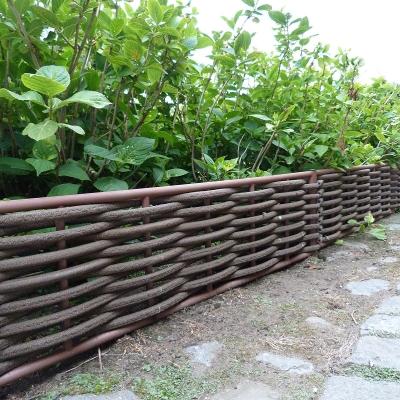Bordure Ecowood avec fibre rond 28 x 115 cm