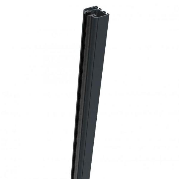 Profil de fixation gauche - 93,5 cm - Gris anthracite